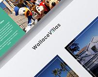 Wallace Villas Website