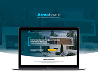 Armoboard Landing Page