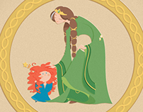 + Merida and Elinor - Brave personal tribute +