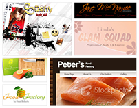 Home Page Designs