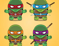 Teenage Mutant Ninja Turtles T-shirt design