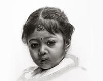 Little Newari girl