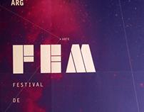 FEM festival - AFICHE PROGRAMATICO