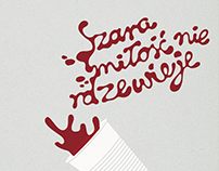 """Grey Area"" silkscreen posters / ""Szara strefa"" plakaty"