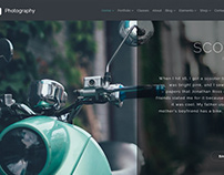 Photography WordPress Theme - Slider Scooter