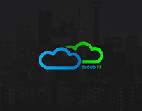 Cloud 77 Logo Rebrand