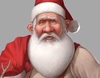 Carte Noël pour l'Agence ÜBER