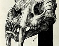 Skulls, bones and creatures