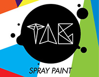 TAG Spray Can by SANCora