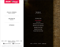SANCora Website Design