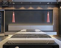 Villa Modern Bedroom Design