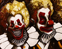 The  crazy clowns