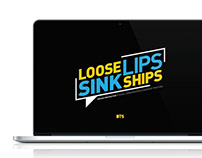 Loose Lips Sink Ships Campaign
