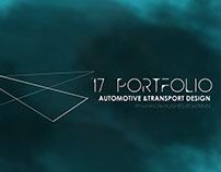 2017/2018 Automotive and Transport Design Portfolio
