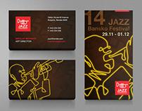 Jazz Festival Bansko Identity