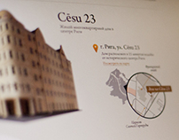 Cesu23 / Website concept