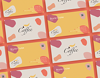 Free Coffee Store Business Card Template