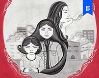 Cartaz do filme persépolis- proposta de redesign