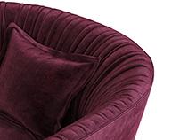 Desiree Shellon armchair 3d models