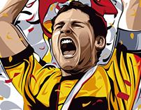 Iker Casillas Eurocup 2012