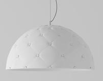 Clamp suspension lamp