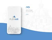 Plein Air - Brand Image & UX/UI Design - iOS App