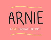 ARNIE Typeface - Free