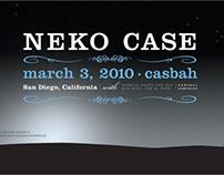 Neko Case Concert Poster