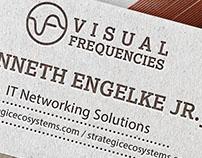 Visual Frequencies Branding