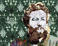 William Morris Portrait Poster