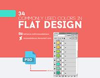 Colors in Flat Design