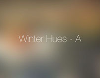 Winter Hues - A