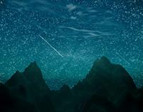 Starry Sky-Blender Practice