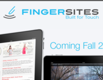 Finger Sites landing page