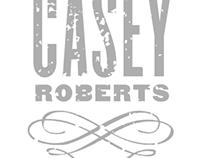 CASEY ROBERTS: Logo Treatments