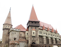 Corvin Castle / Romania in the fall