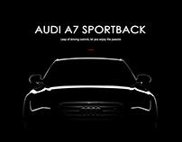比赛项目-Audi A7广告