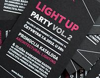 Light Up Vol. 2 invitation
