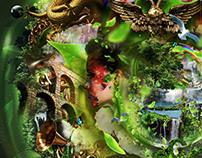 I am your Land Digital Illustration