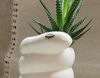 Eco snake pot