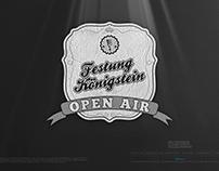 FESTUNG KÖNIGSTEIN OPEN AIR • The Logo
