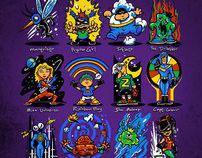 The World's Lamest Superheroes