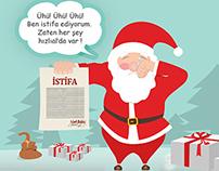 Noel Babanın İstifası - Hızlıal.com (Pegasus Magazine)