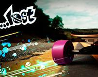 3D Lost Skate Longboard