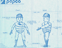 Pepco character design concepts