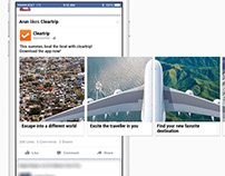 Cleartrip - Creative Facebook Carousels