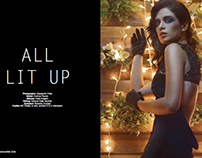 """ALL LIT UP"" - UPTEMPO MAGAZINE DEC '12"
