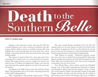 Death to the Southern Belle Editorial Layout