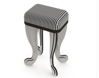 Barred Stool