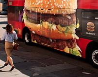 McDonald's Bus Wraps